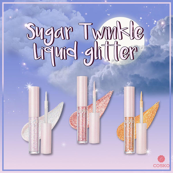 [Peripera] SUGAR TWINKLE LIQUID GLITTER 1.9g [3 Colors]