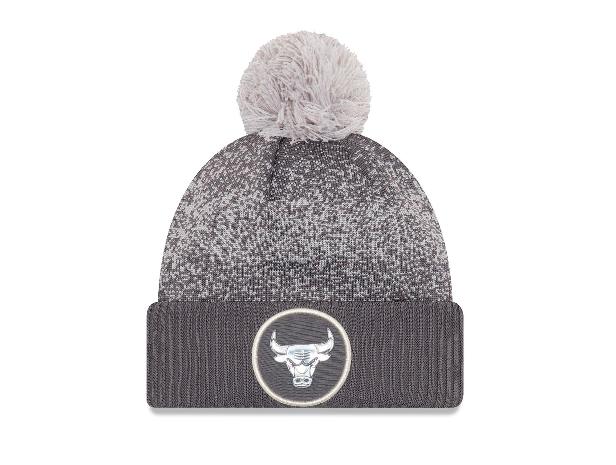 Beanie New Era Jr Chicago Bulls Unisex Gris