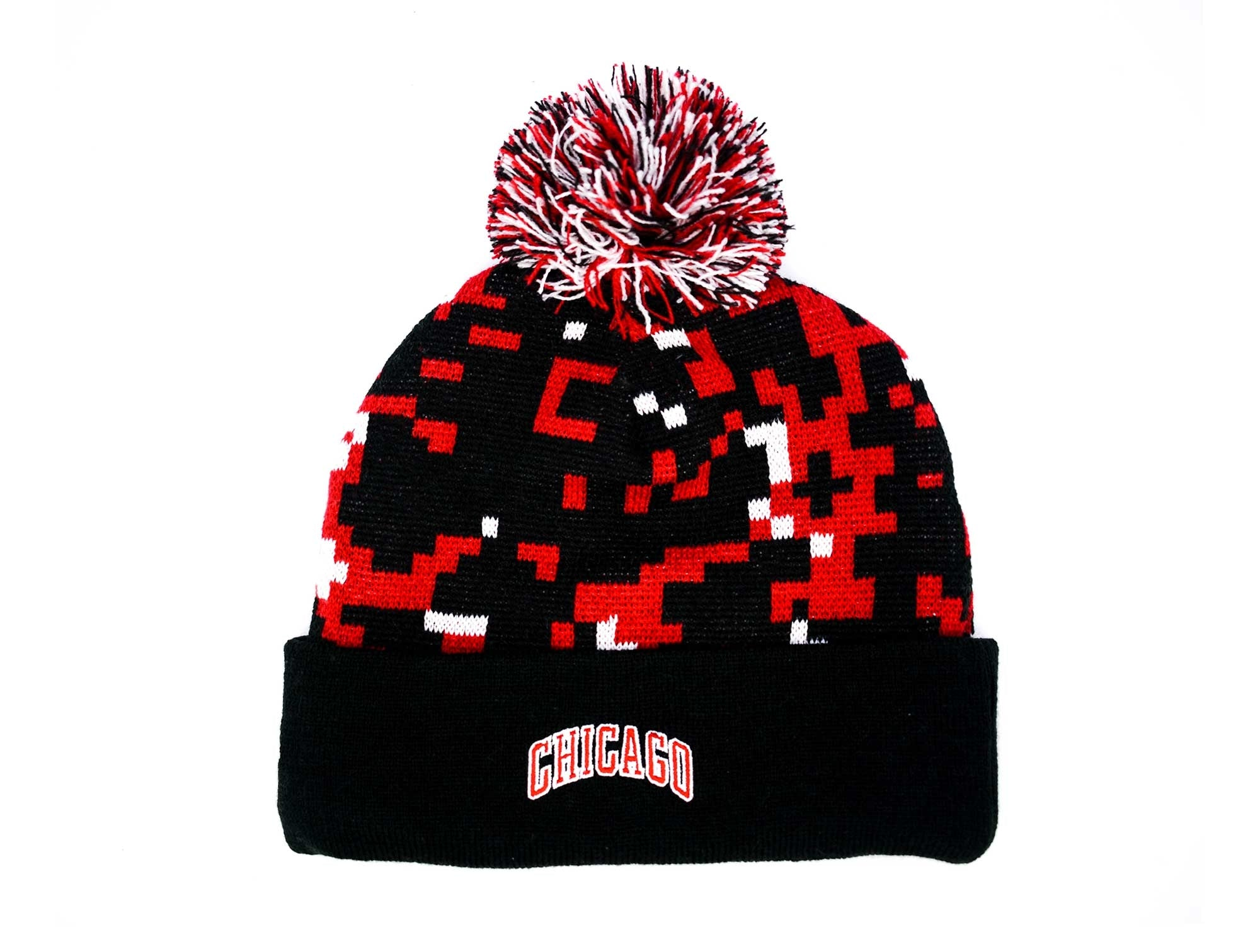 Beanie New Era Chicago Bulls Unisex Rojo