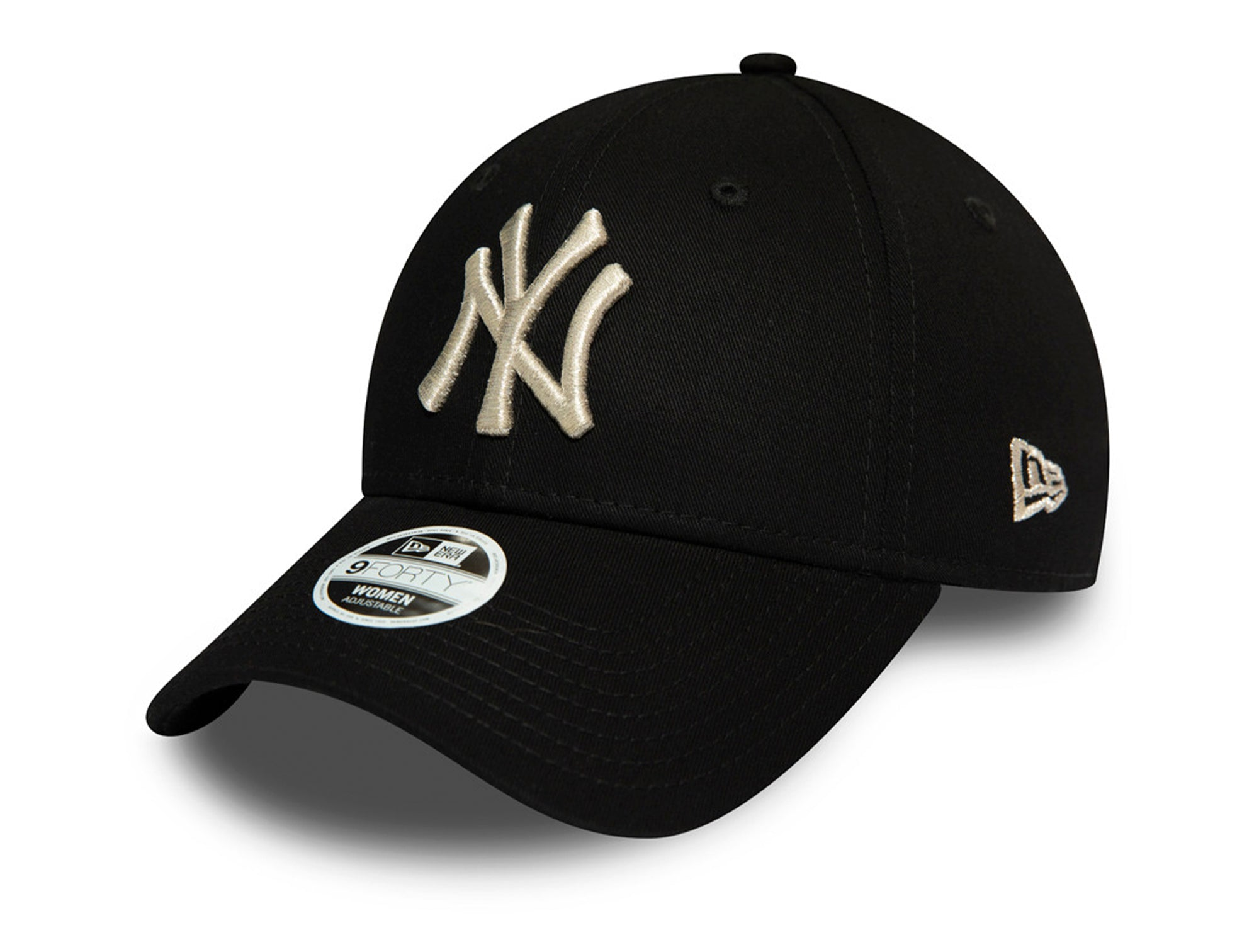 Jockey New Era New York Yankees 940 Strapback Mujer Negro