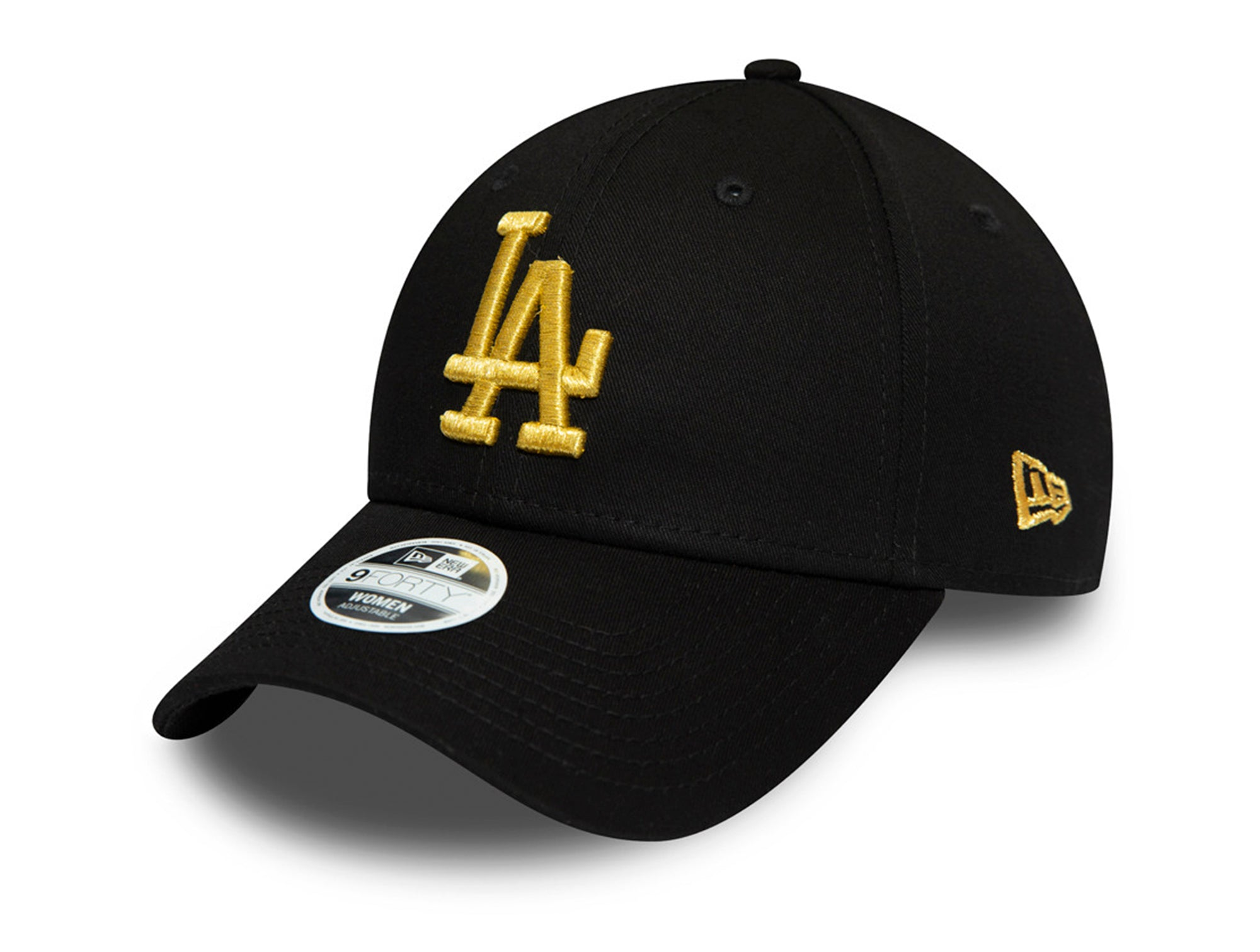 Jockey New Era Los Angeles Dodgers 940 Strapback Mujer Negro