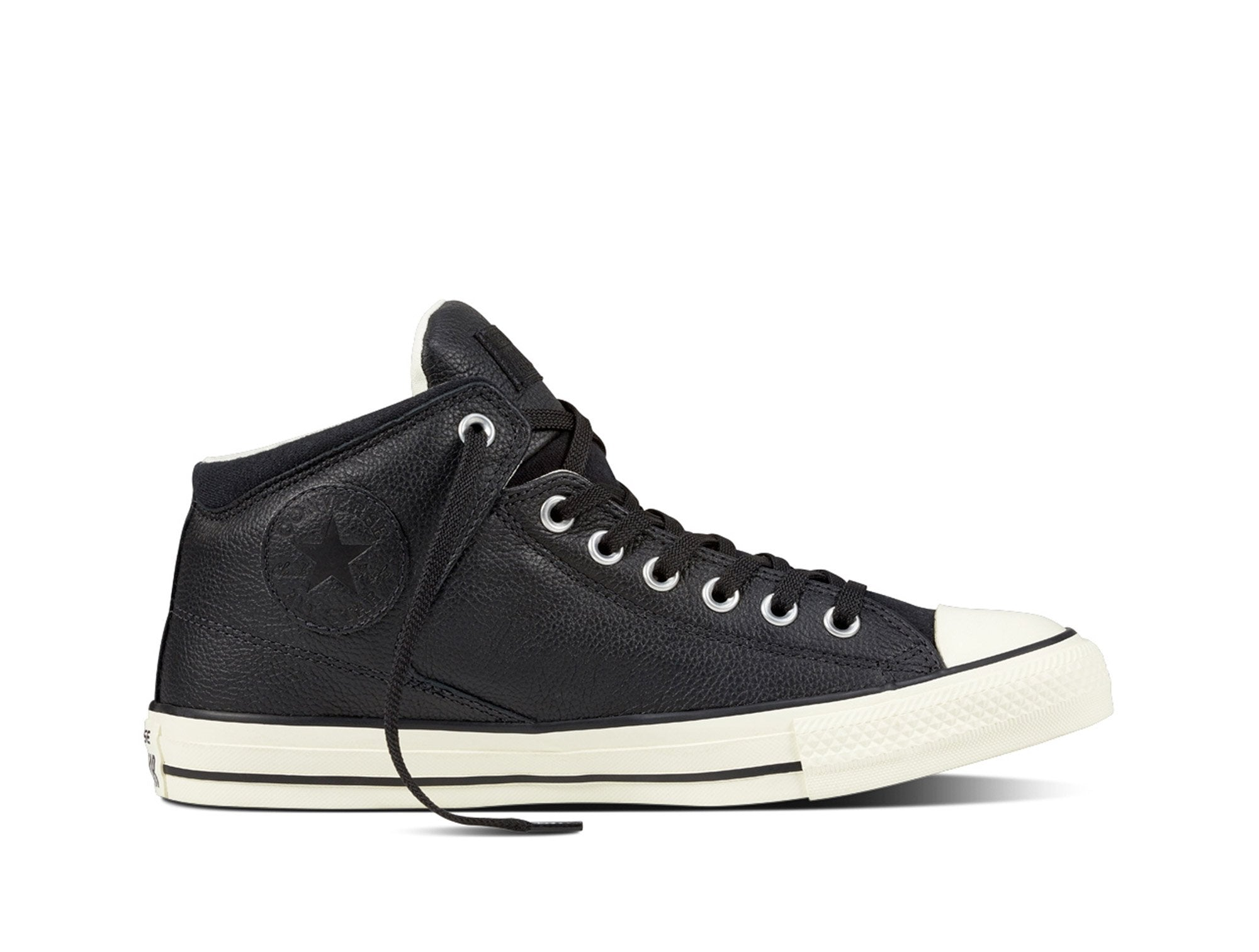 Zapatilla Converse C/T All Star High Street Hi Bk/Bk/Egret