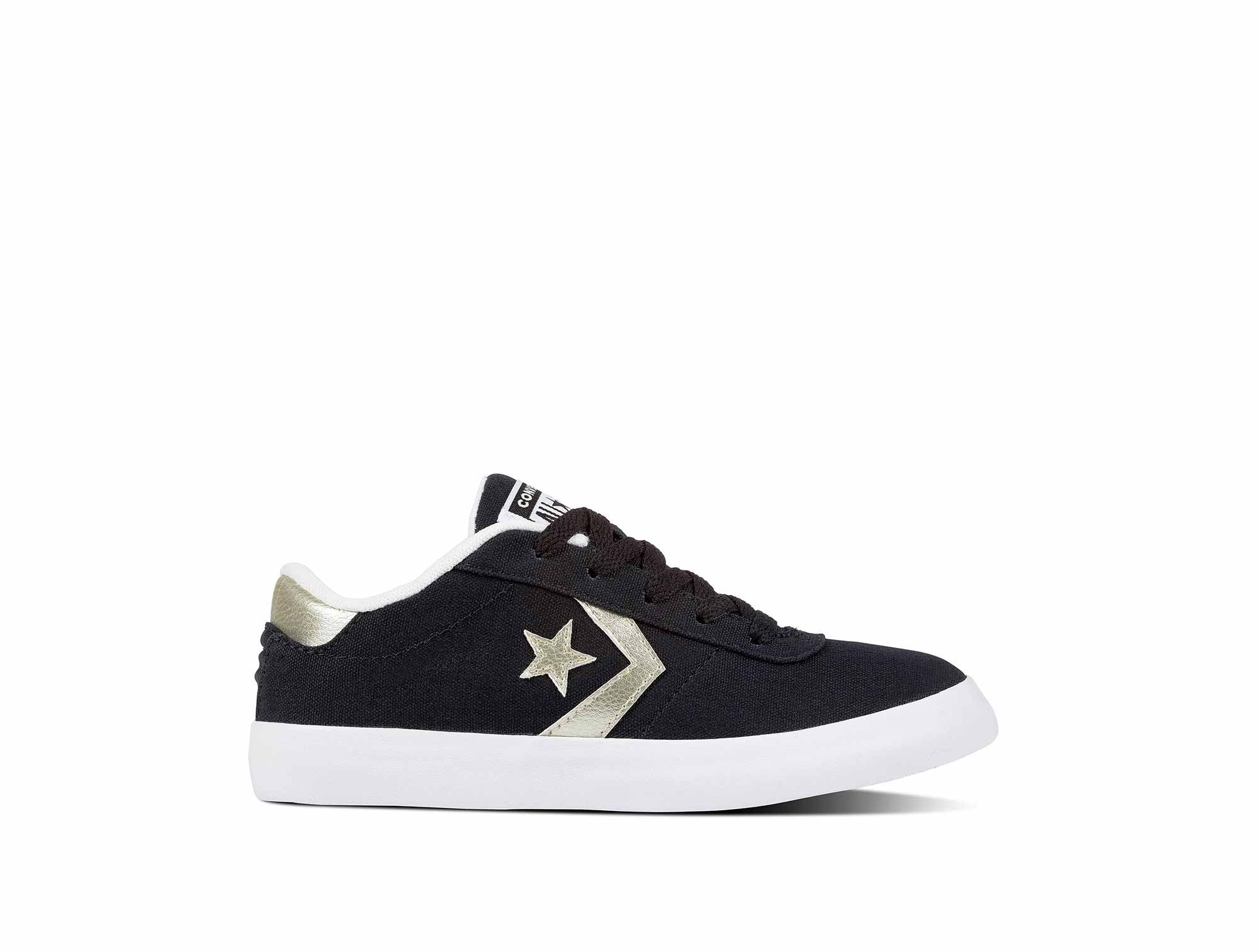 Zapatilla Converse Point Star Junior Negro