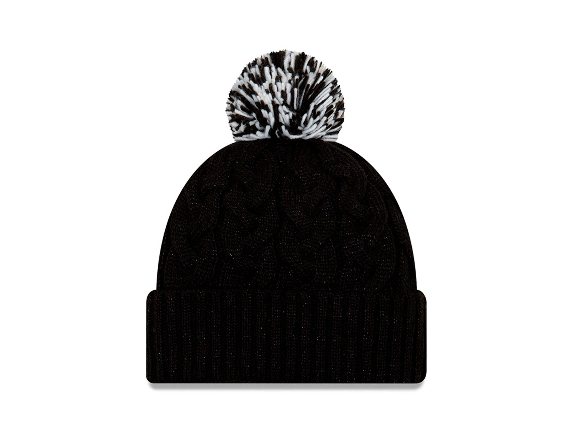 Beanie New Era Chicago White Sox Mujer Negro