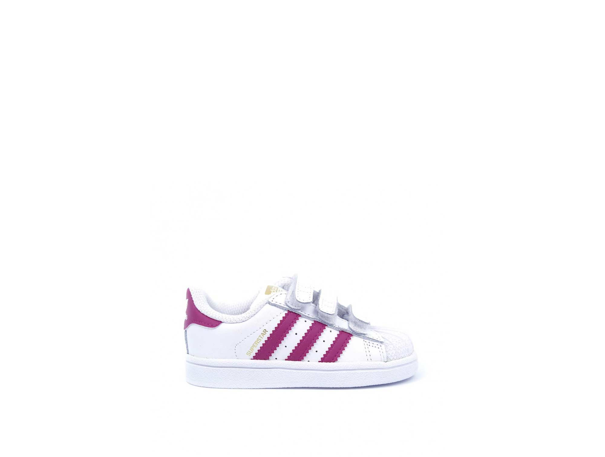 Zapatilla Adidas Superstar Infantil Blanco