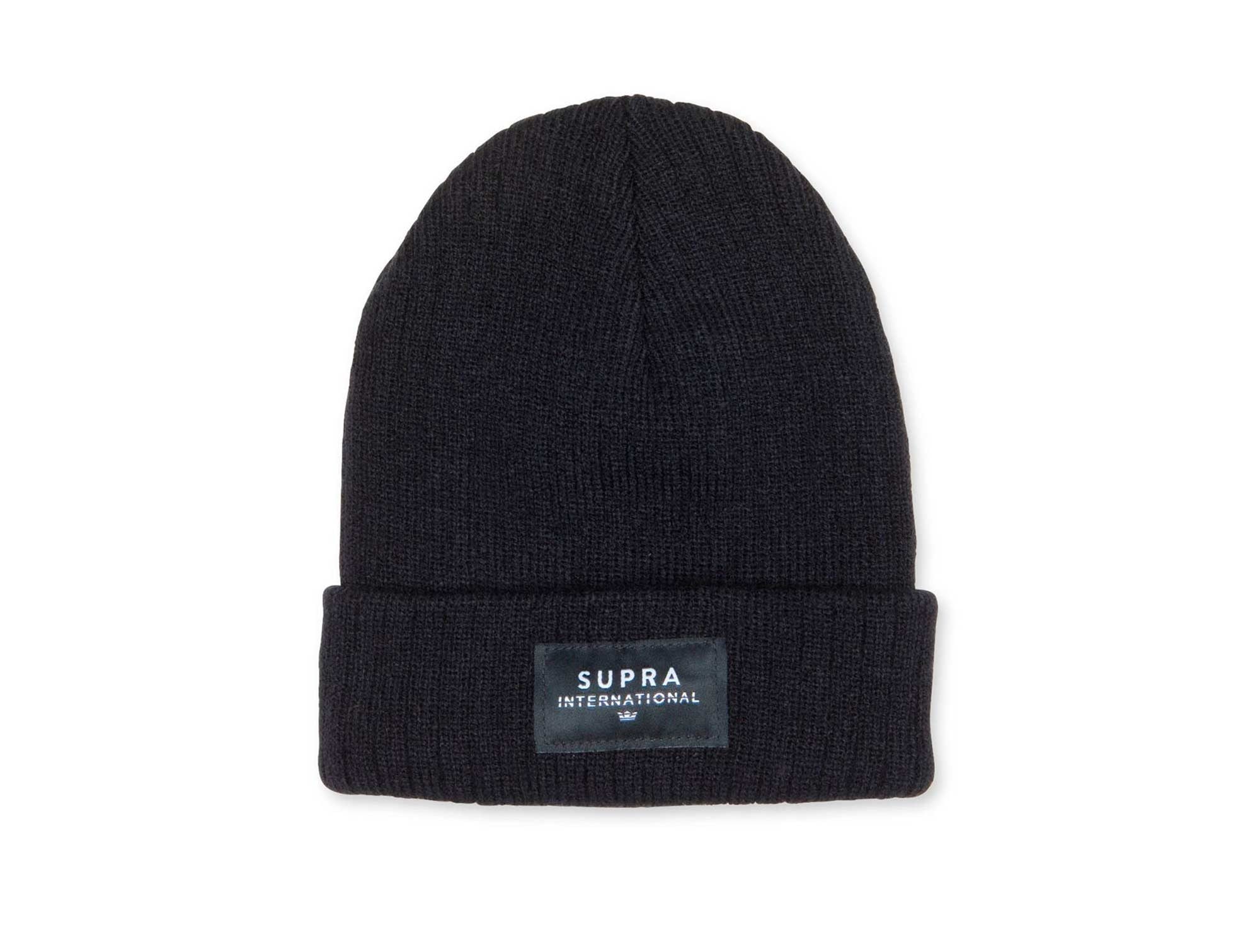 Beanie Supra Icon International Unisex Negro.