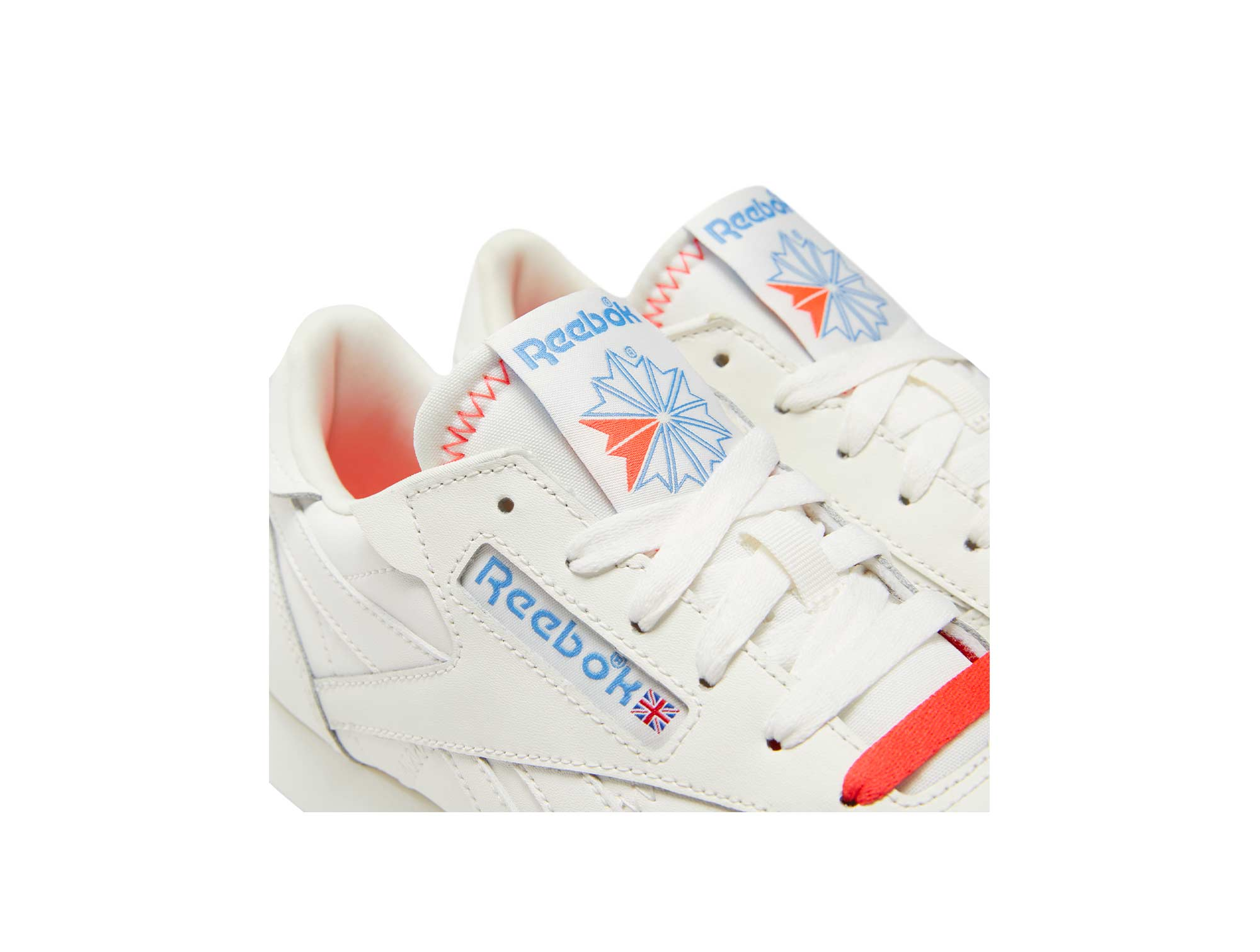 ZAPATILLA REEBOK CL LEATHER ITS A MANS WORLD MUJER BLANCO