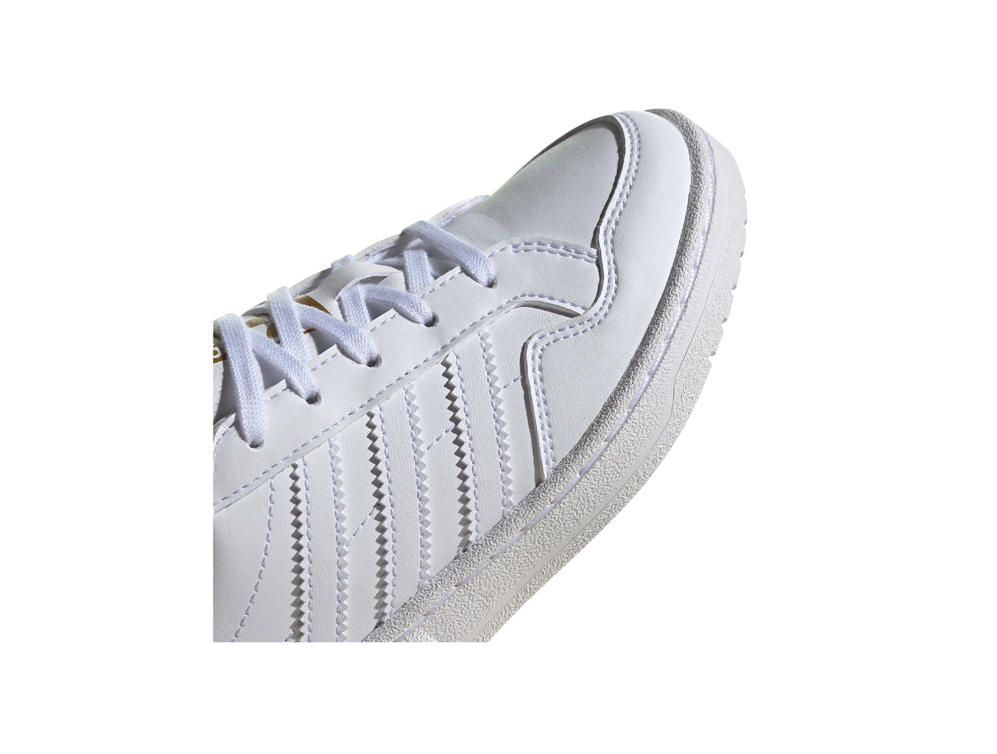 Zapatilla Adidas Team Court Junior Blanco