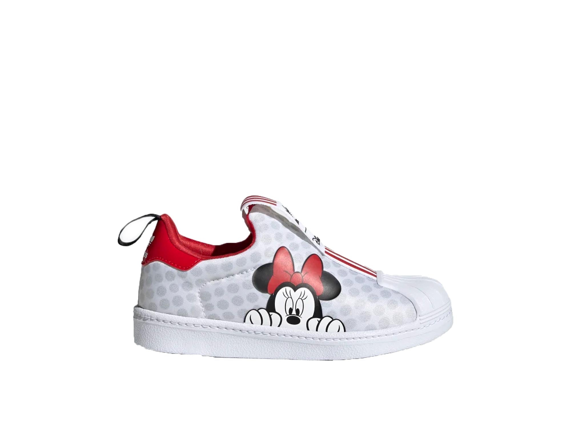 Zapatilla Adidas Superstar 360 Minnie Mouse Junior Blanco