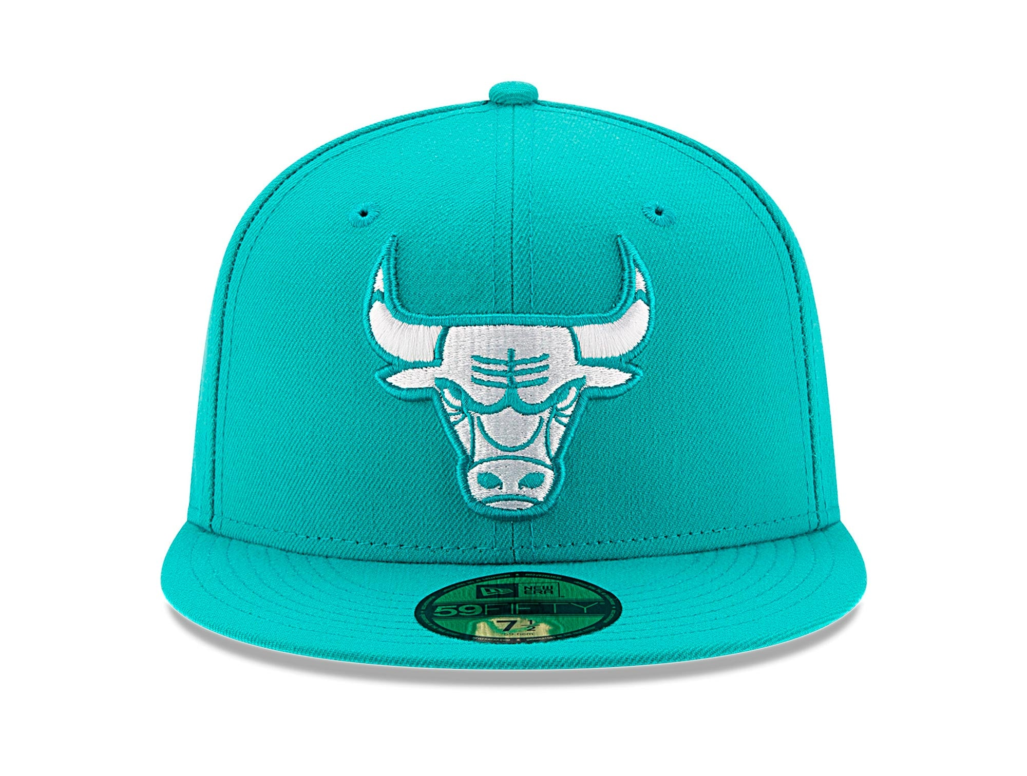 Jockey New Era Chicago Bulls 5950 Unisex Celeste