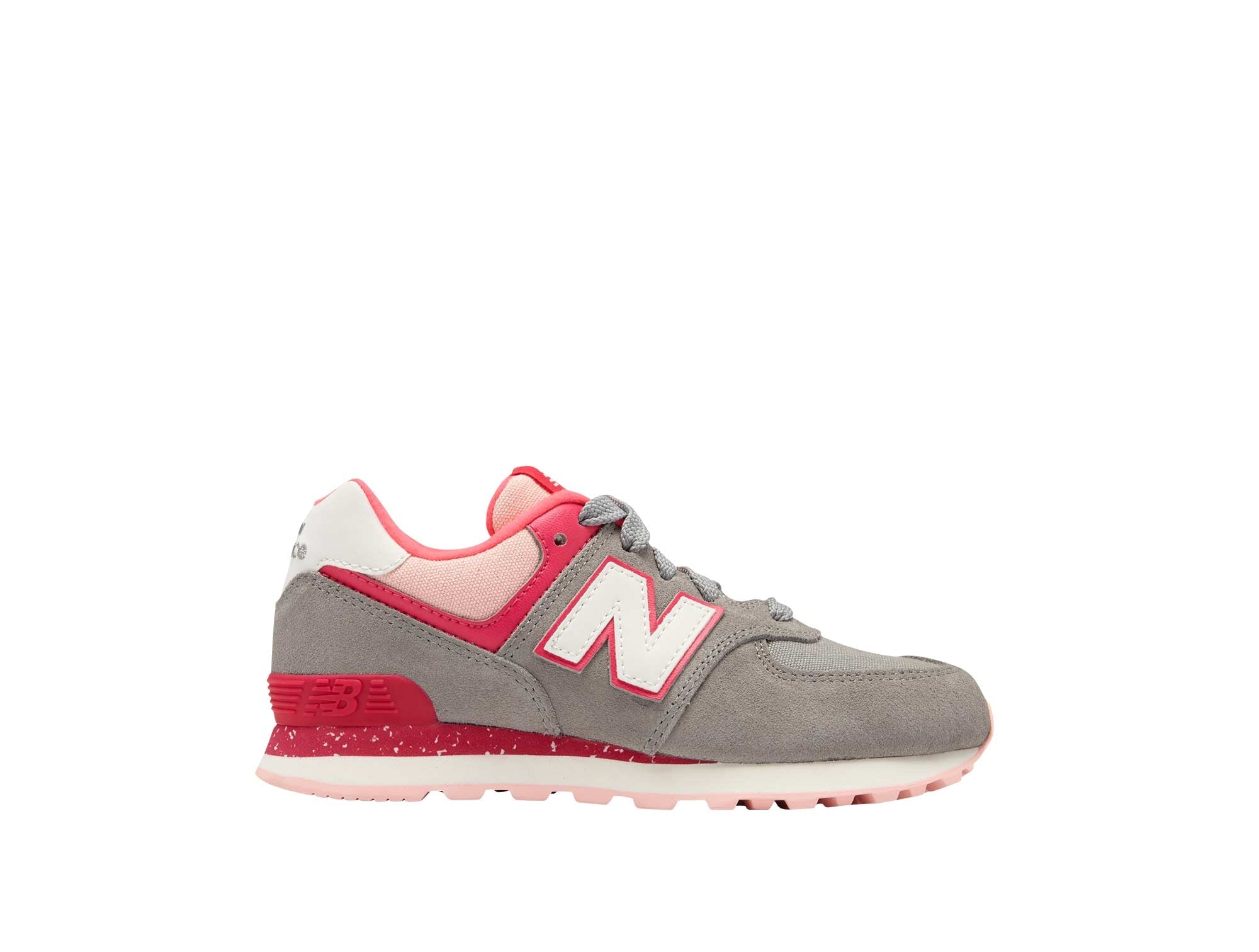 Zapatilla New Balance 574 Junior Gris