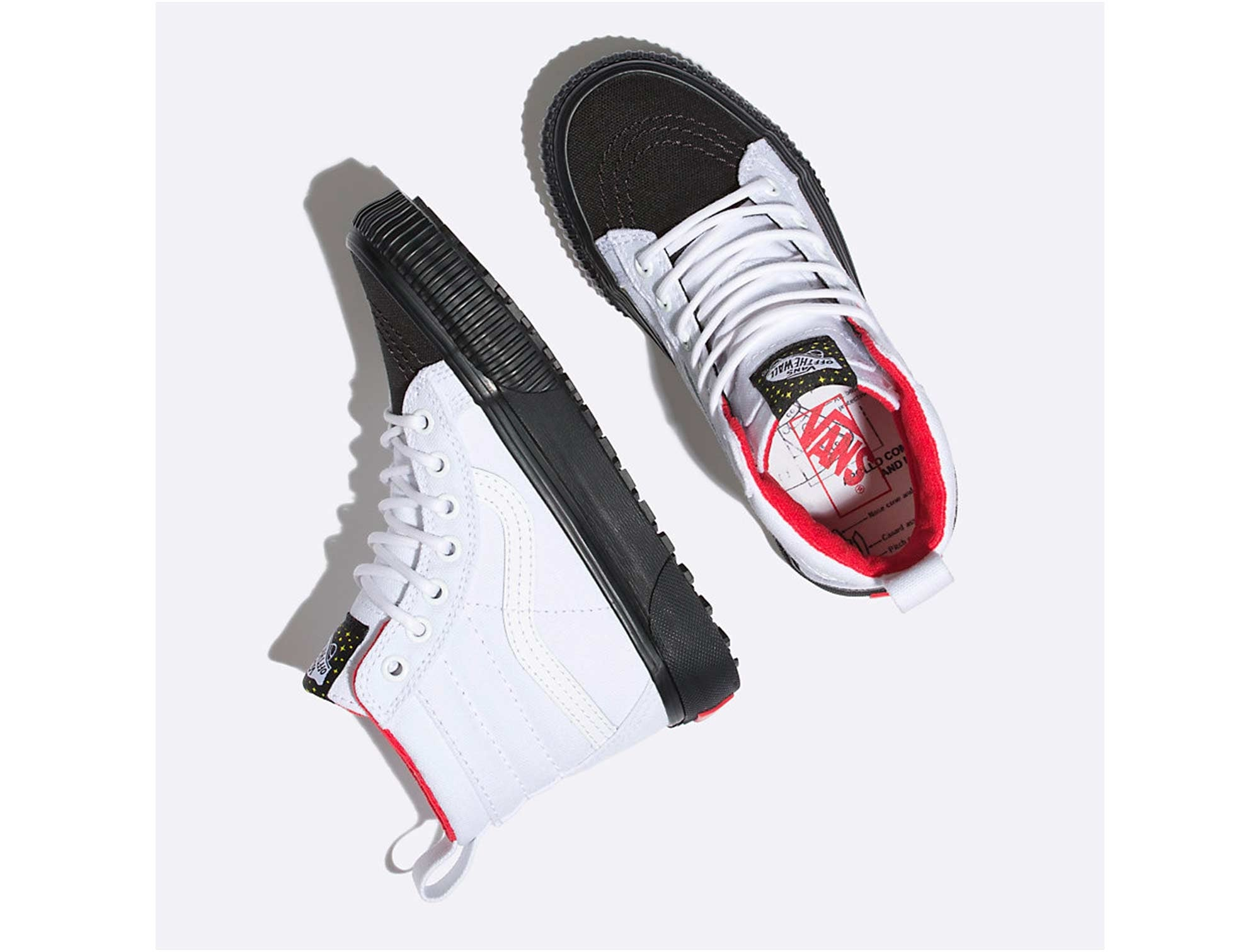Zapatilla Vans Sk8-Hi Junior Blanco