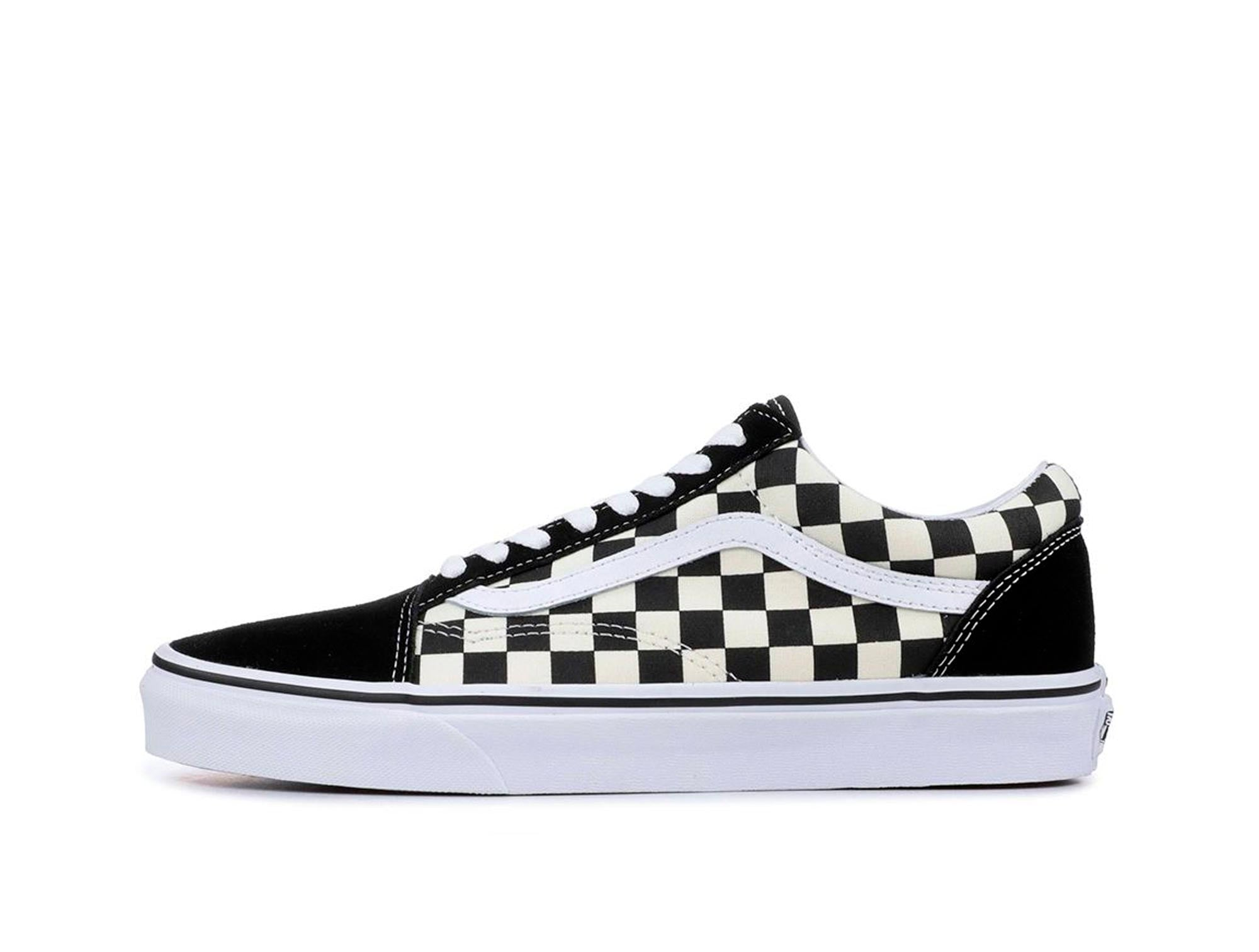 Zapatilla Vans Old Skool (Primary Check) Unisex Negro