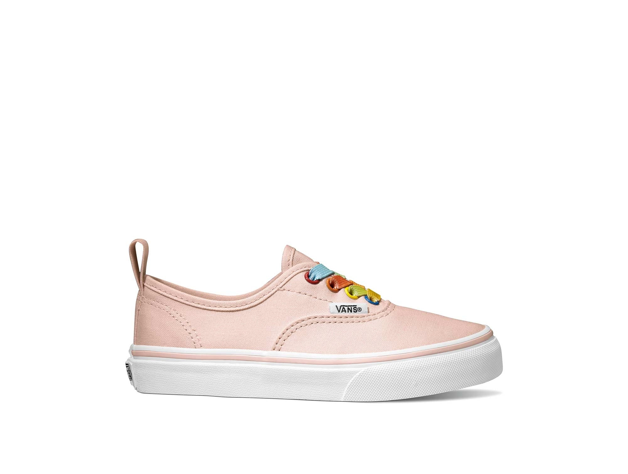 Zapatilla Vans Authentic Elastic Lace Junior Rosado