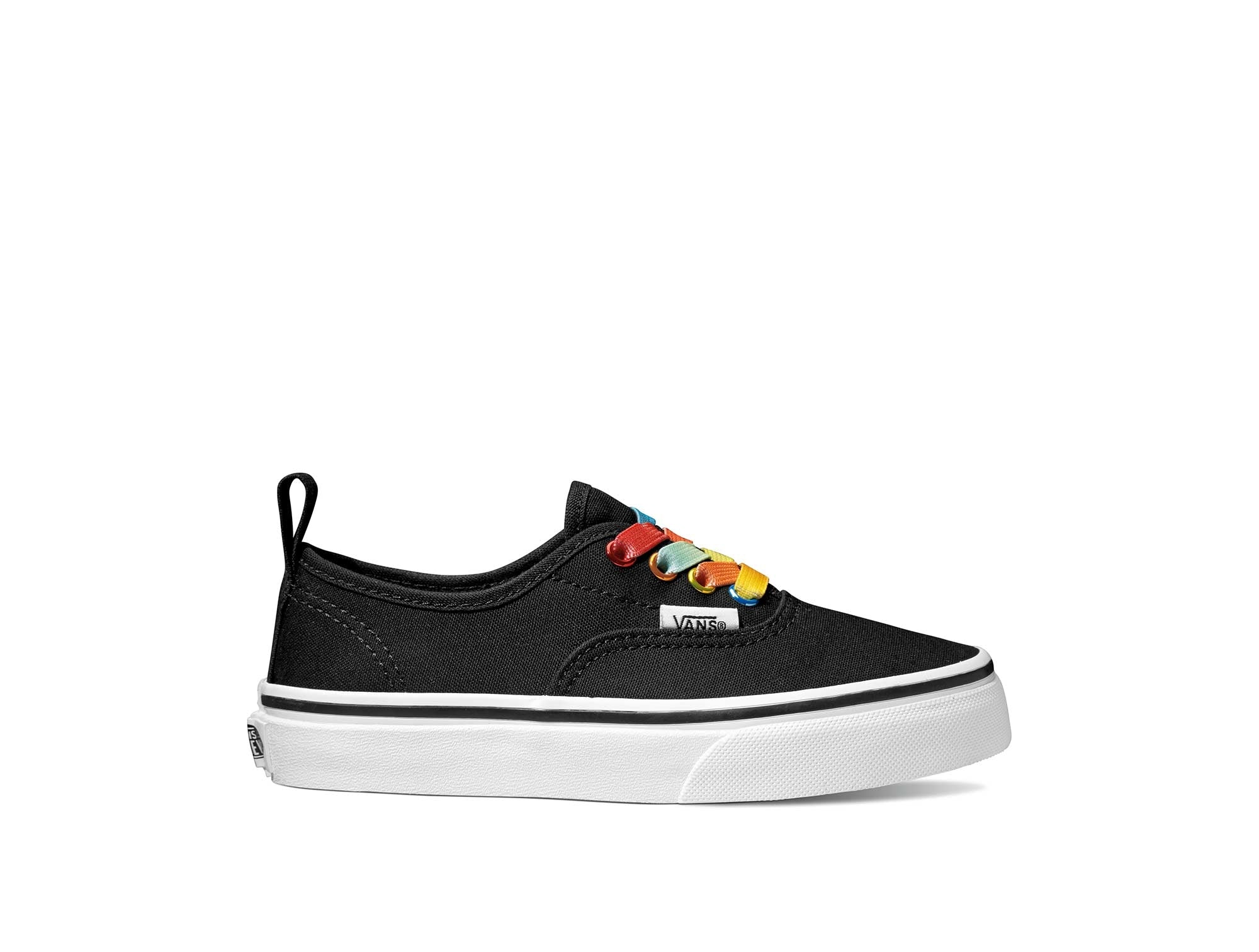 Zapatilla Vans Authentic Elastic Lace Junior Negro