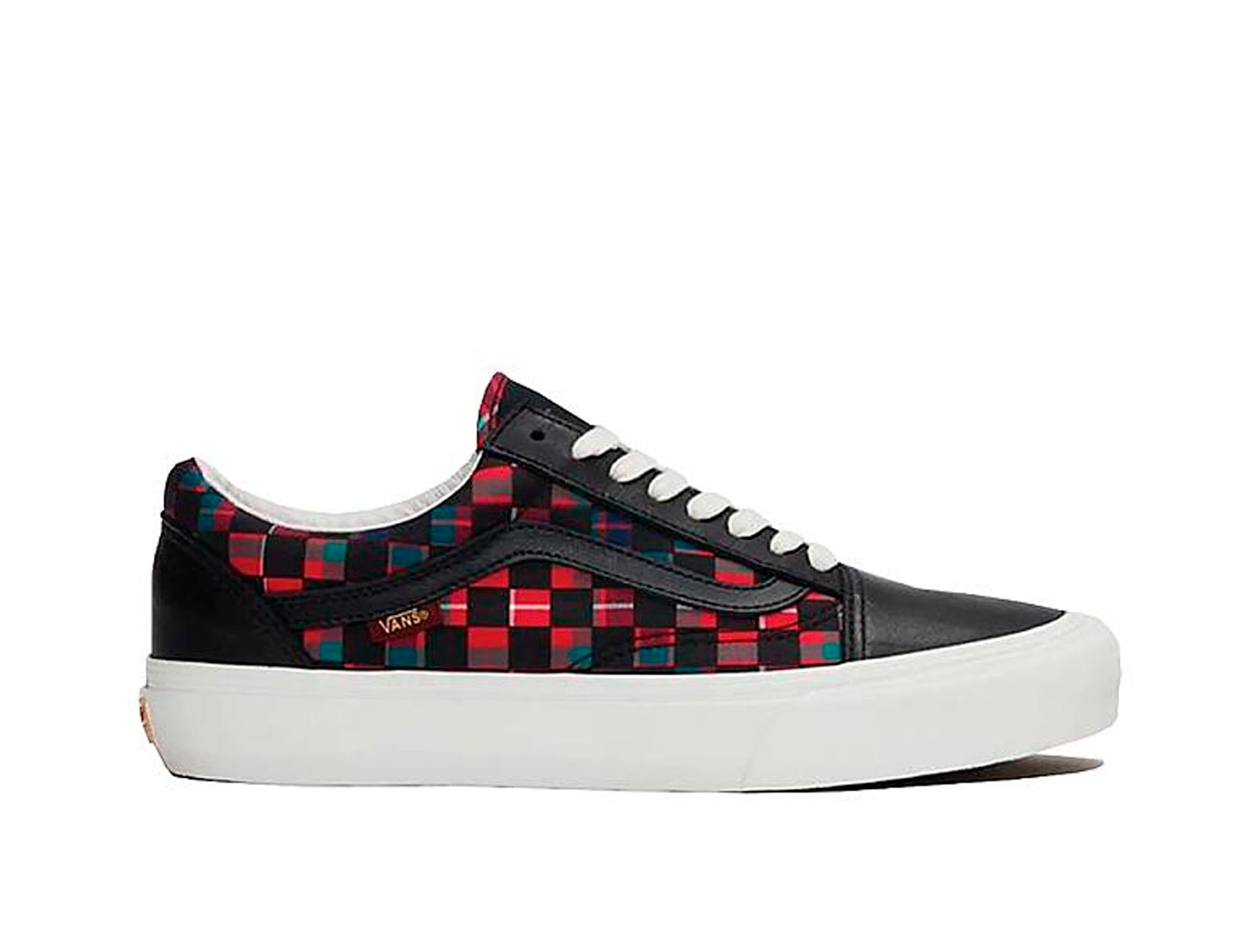 Zapatilla Vans Old Skool Checker (Baracuta) Unisex Negro