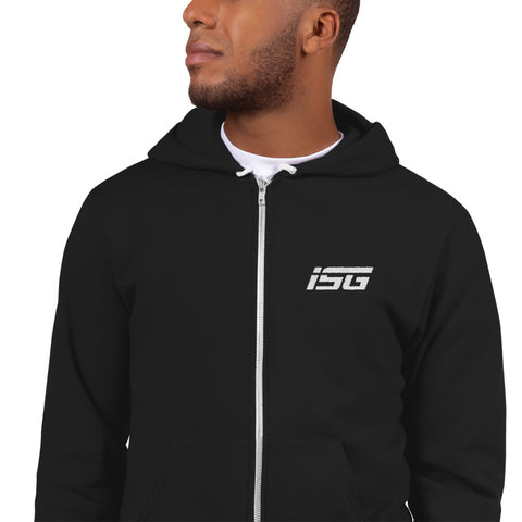ISG Embroidered Logo Hoodie Sweater