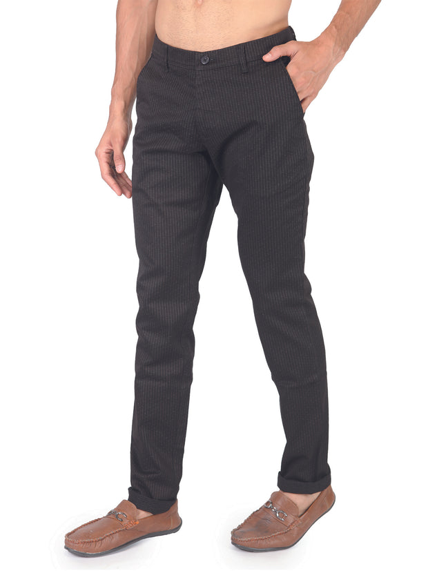 Regular Fit Mens Cotton Trouser - 46265