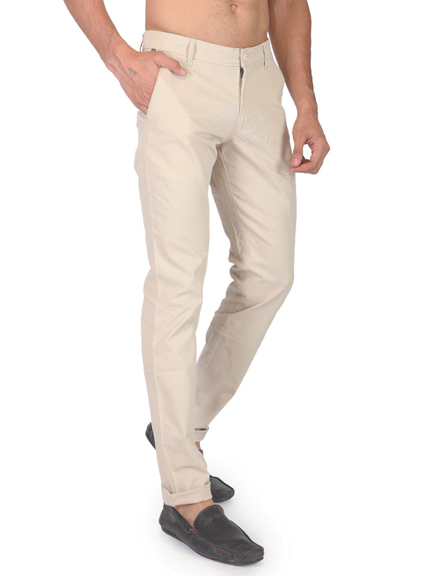Regular Fit Cotton Trouser - 44057