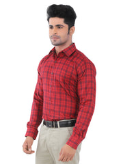 Checkered Slim Fit Formal Shirt - 570163