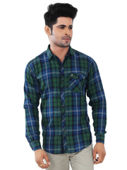 Checkered Slim Fit Casual Shirt - 1275