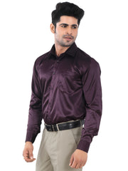 Solid Slim Fit Formal Shirt - Jupiter