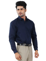 Solid Slim Fit Formal Shirt - Pilot