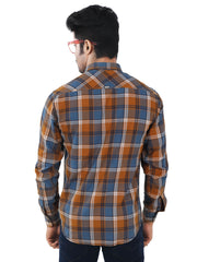 Checkered Slim Fit Casual Shirt - 1277