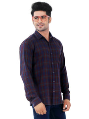 Checkered Slim Fit Casual Shirt - 1291