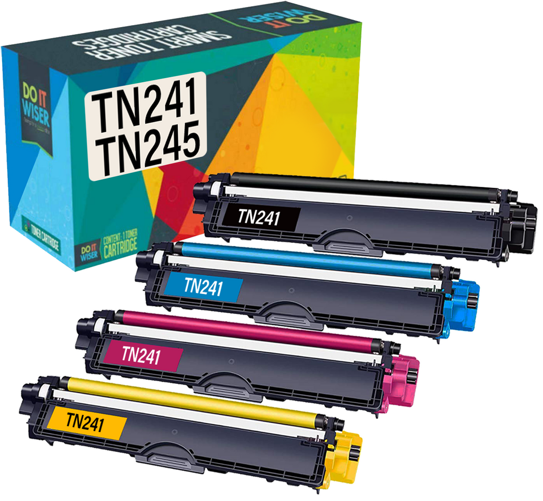 Compatible Brother HL-3150CDN Toner 4 Pack by Do it Wiser