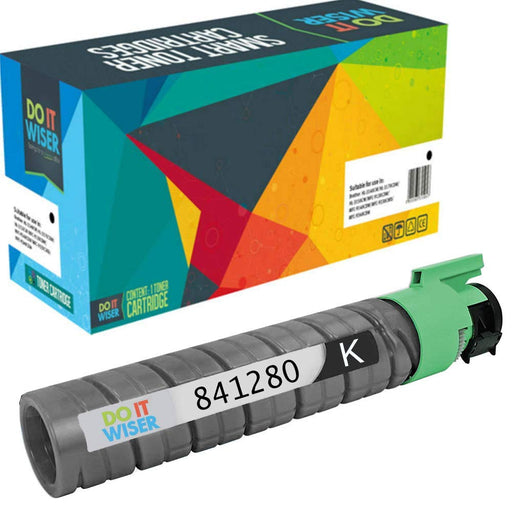 Compatible Ricoh MP C2530 Toner Black by Do it Wiser