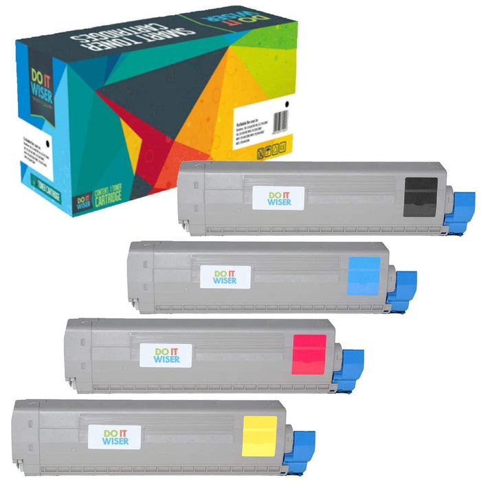 OKI C810CDTN Toner Set High Capacity