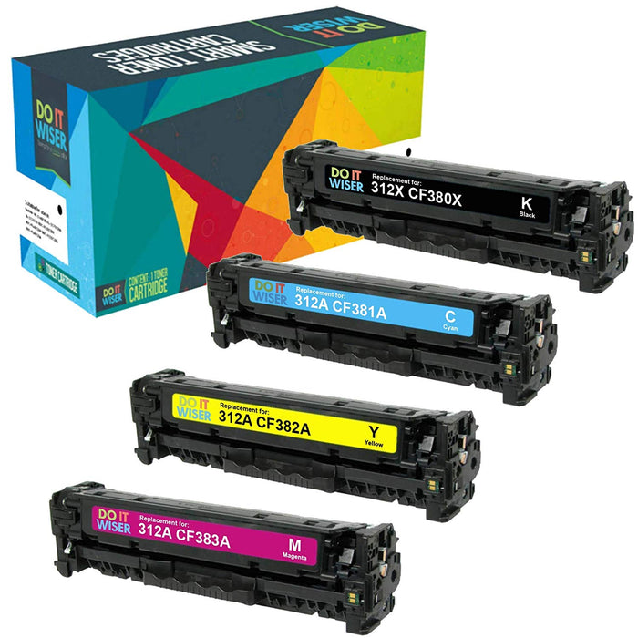 HP 312A Toner Set High Capacity