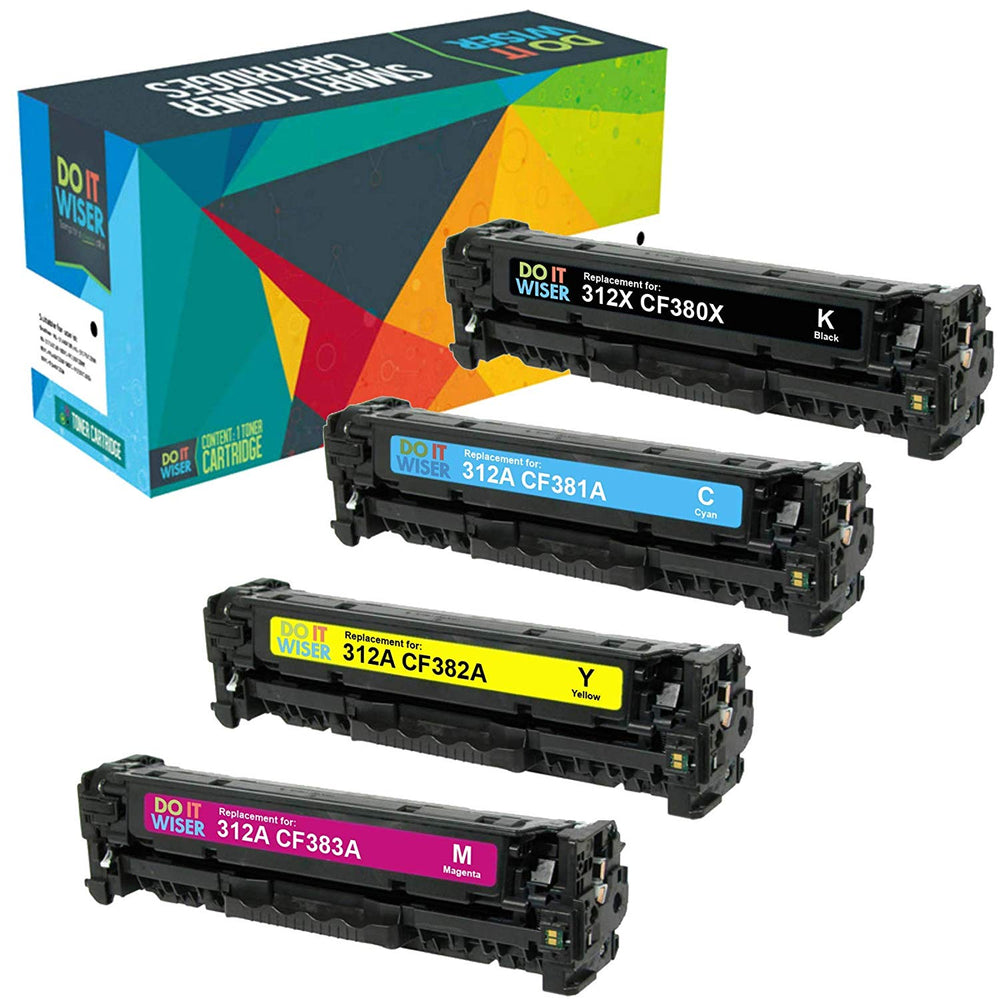 HP Color Laserjet Pro MFP M476dw Toner Set High Capacity