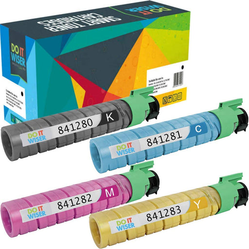 Compatible Ricoh MP C2530 Toner 4 Pack by Do it Wiser