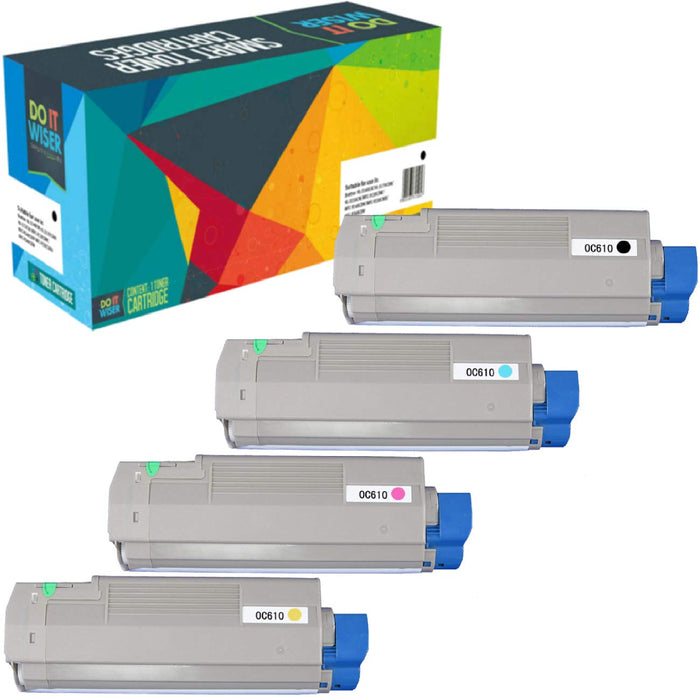 OKI C610cdn Toner Set