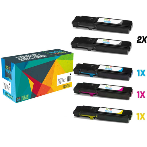 Xerox Phaser 6600 Toner 5pack High Capacity