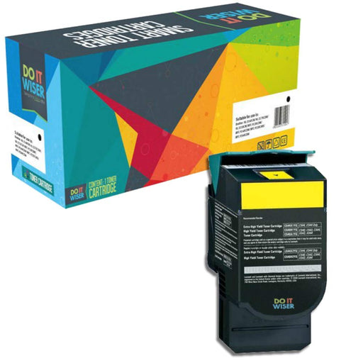 Lexmark C546 Toner Yellow
