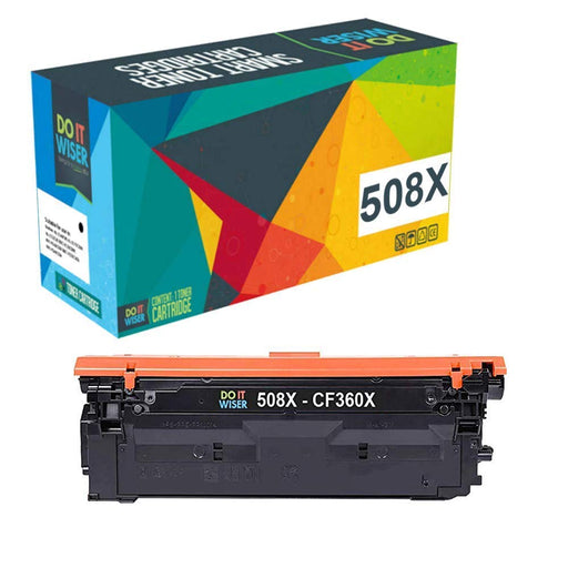 HP Color LaserJet M553n Toner Black High Capacity