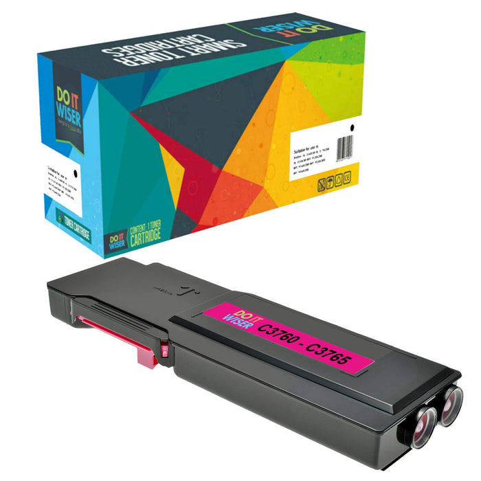 Dell C3760dn Toner Magenta Extra High Capacity