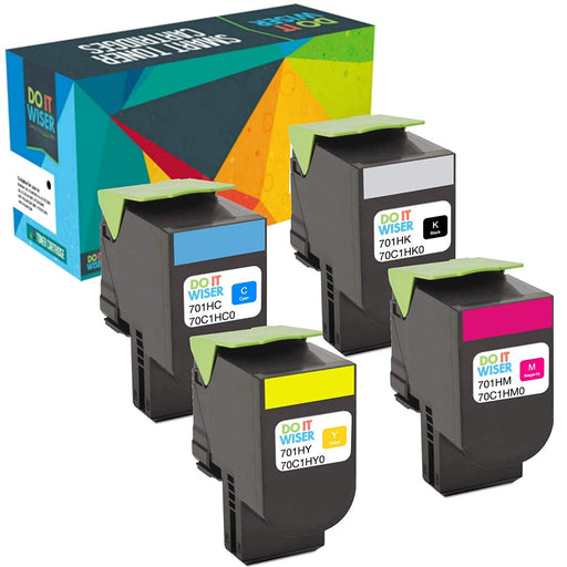 Lexmark CS410 Toner Set High Capacity
