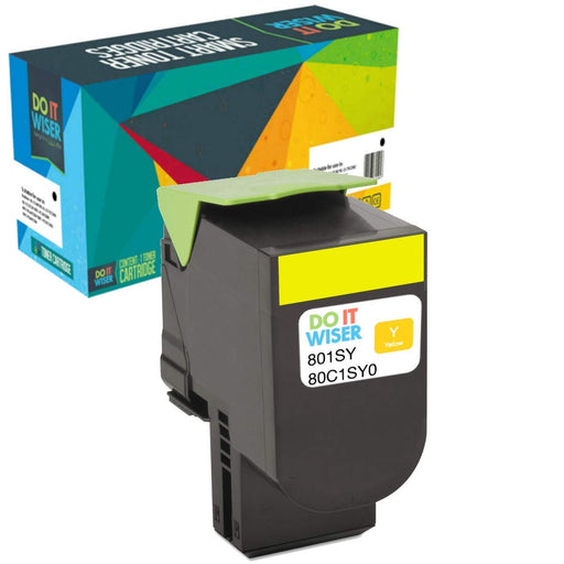 Lexmark CX510dew Toner Yellow