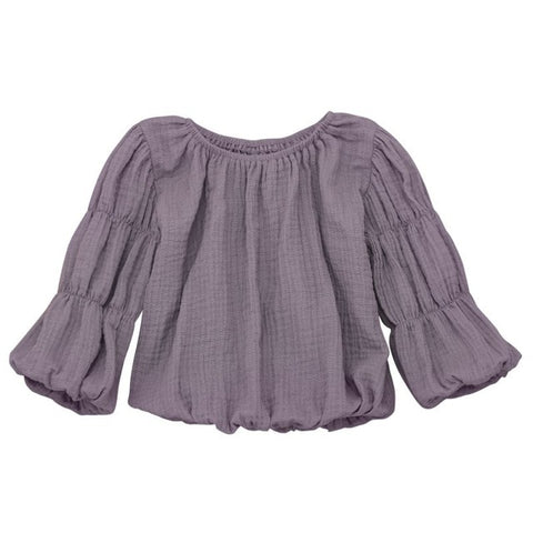 Hippy Chick Blouse - Purple