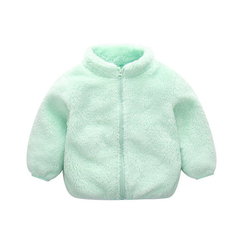 Fleece Zip Up Jacket - Multiple Colors