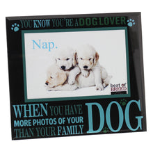Load image into Gallery viewer, Dog Lover Photo Frame