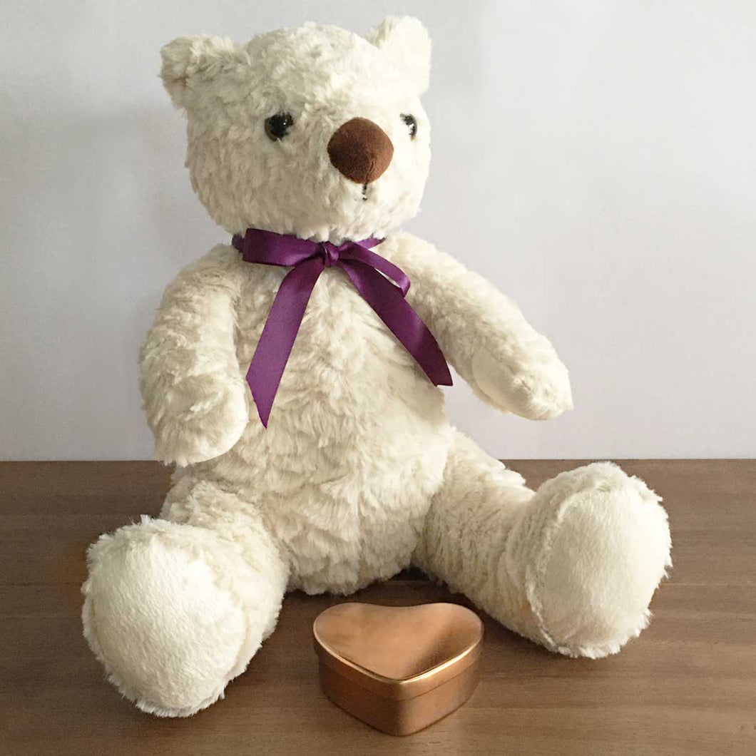 Cremation Ash Holding Memorial Cuddly Bear