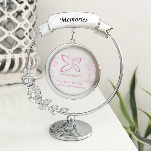 Memories Photograph Crystocraft Ornament