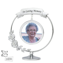 Load image into Gallery viewer, In Loving Memory Photograph Crystocraft Ornament