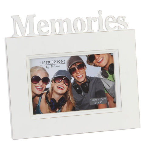 Memories Cut Out Letters Photoframe by Juliana
