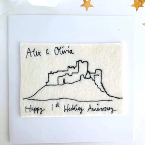 Favourite Place Embroidery Art